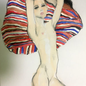Egon Schiele inspired series